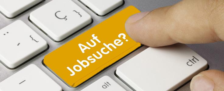 Jobsuche-enter-gelb